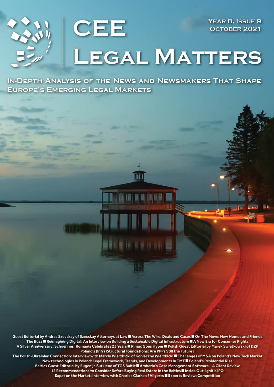 CEE Legal Matters: Issue 8.9
